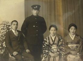 昭和14年4人で.JPG