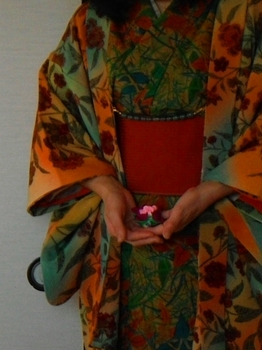 着物DE椿の香袋.JPG
